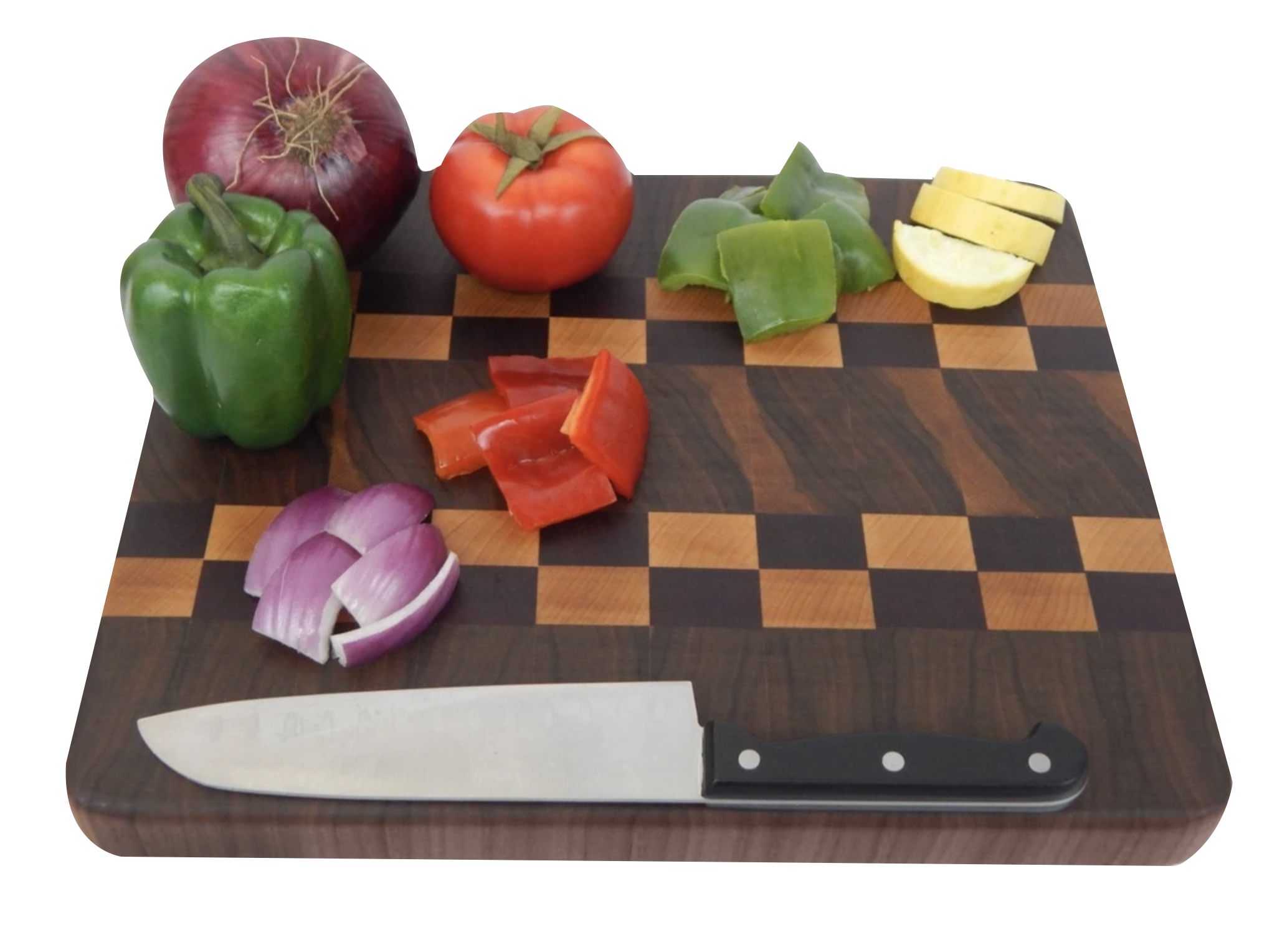 about example board with veggies